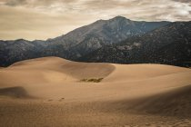 Sand Dunes National Park in Colorado, USA. — Stock Photo