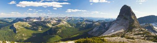Vista panoramica di vigogna Peak, British Columbia, Canada — Foto stock