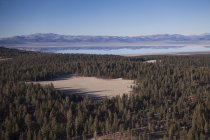 Mono Lake and Vicinity from the Air — Stock Photo