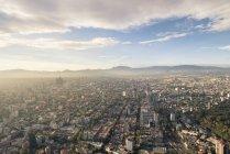 Vista di città del Messico dall'alto edificio in Paseo de la Reforma, Distrito Federal, Mexico — Foto stock