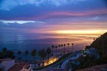 Scenic View Of Catalina Island In California, Usa — Stock Photo