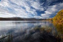 Вид на озера Ванака в Новій Зеландії — стокове фото