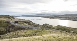 Scenic view of Columbia River In Eastern Washington — Stock Photo