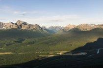 Wunderschönen Rocky Mountains In Banff Nationalpark, Kanada — Stockfoto