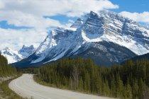 Promenade des champs de glace en Alberta — Photo de stock