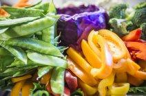 Varie verdure fresche — Foto stock