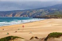 Guincho пляж в Кашкайш, больший Лиссабон, Португалия — стоковое фото