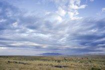 Большое соленое озеро от острова антилопы, Юта — стоковое фото