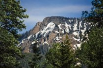 Majestueux paysages naturels de la montagne Flattop dans les montagnes de San Juan, Pagosa Springs, Colorado, États-Unis — Photo de stock