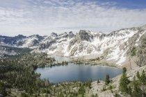 Пилообразные горах Айдахо Twin озер — стоковое фото