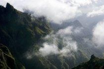 Pico do Areeiro mountain peak in Madeira, Portugal — Stock Photo