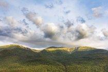 Magnifiques paysages naturels du Mont Washington en Presidential Range des montagnes blanches, Pinkham Notch, comté de Coos, New Hampshire, é.-u. — Photo de stock