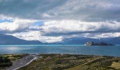 Island at Lago Gral Carrera, General Carrera Province, Chile — Stock Photo