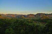 Viales регіон fam долини і вапняку відслонення називається magotes, Куба — стокове фото