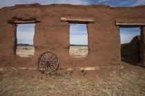 Adobe залишається в Форт Союзу, Нью-Мексико — стокове фото