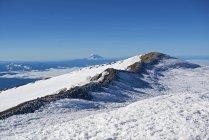 Belas paisagens naturais de Liberty Cap e Mount Hood no cume do Monte Rainier, Parque Nacional de Monte Rainier, estado de Washington, EUA — Fotografia de Stock