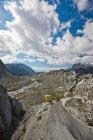 Mountaineering in Garibaldi Provincial Park, British Columbia, canada. — Stock Photo