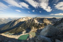 Rocky mountains and alpine lakes — Stock Photo