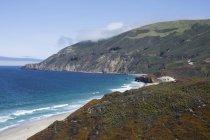 Immagini costiere da Costa di Big Sur, California — Foto stock