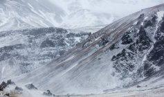 Мальовничий вид на Snowcapped гору в Ісландії — стокове фото