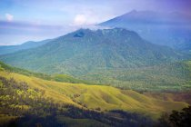 Scenic View Of Mountain Landscape In Java, Indonesia — Stock Photo