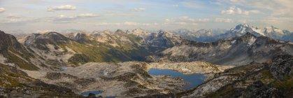 Panoramic View Of Pemberton, British Columbia, Canada — Stock Photo