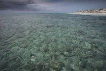 Vista panorâmica da praia de Cayo Largo, Cuba — Fotografia de Stock