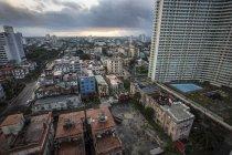 Aerial view of buildings at Havana, Cuba — Stock Photo