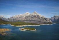 Гора Assiniboine Провінційний парк — стокове фото