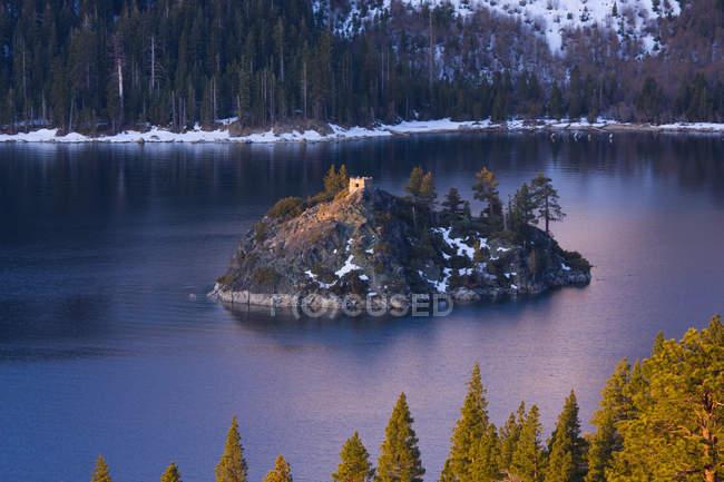 Смарагдовий Bay і майстер острова в озеро Тахо в Каліфорнії — стокове фото