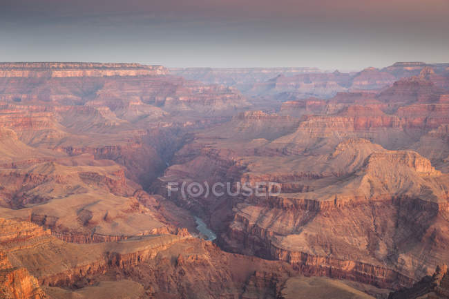 View of Grand Canyon from Lipan Point, South Rim, Grand Canyon National Park, Arizona — Stock Photo