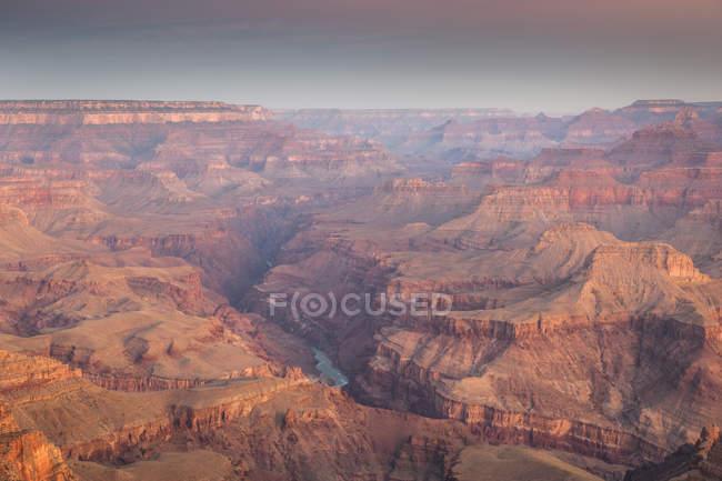 Вид на Гранд-Каньйон з Lipan точку, Південний обода, Величний Національний Парк Глибоої ущелини, Арізона — стокове фото