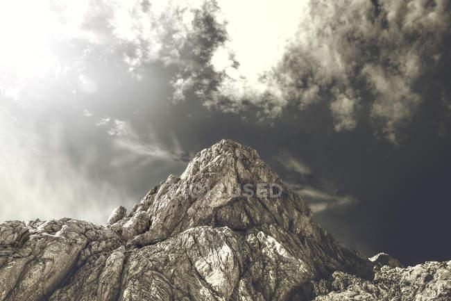 Lucin crête à côté du plus haut sommet de la montagne Durmitor — Photo de stock