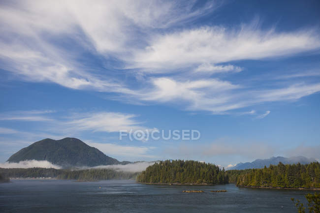 View Of Meares Island From The Town Of Tofino, British Columbia, Canada — Stock Photo