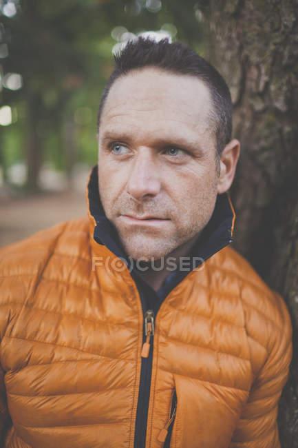 Portrait Of Mountain Athlete Adam Palmer — Stock Photo
