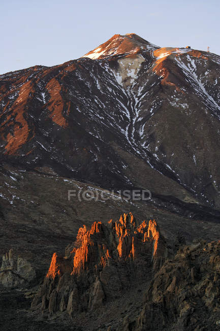 Scenic view of Teide Volcano In Tenerife Island, Spain — Stock Photo