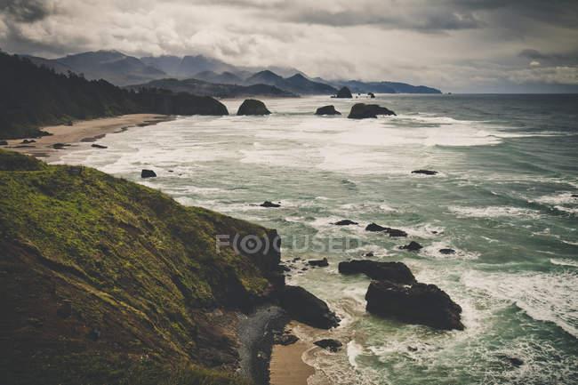 Oregon Coast and Cannon Beach — Stock Photo