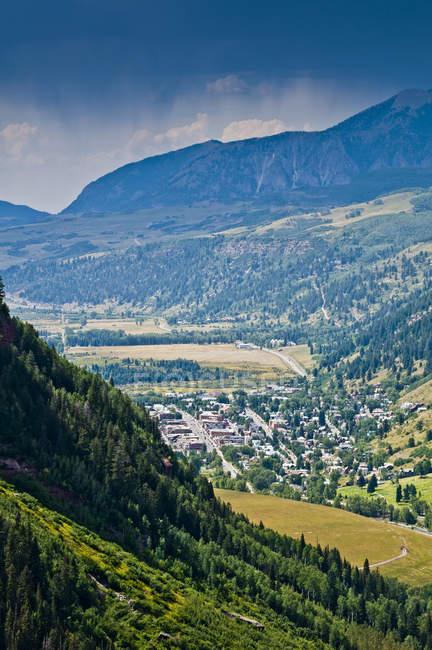 Du paysage des Carpates en automne. — Photo de stock