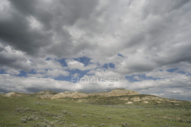 Little Missouri Grassland nacional Dakota do Norte — Fotografia de Stock