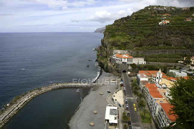 Vista panorâmica da Ponta do Sol, Madeira, Portugal — Fotografia de Stock
