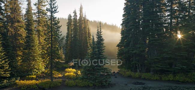 Schöne Devils Lake — Stockfoto