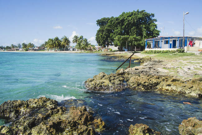 Locale ostello a Playa Larga, Cuba — Foto stock