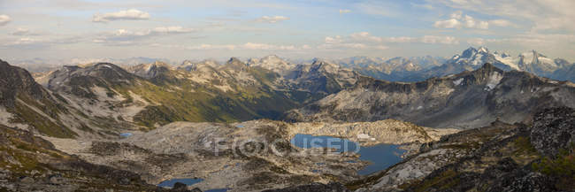 Panoramic View Of Pemberton, British Columbia, Canada — Stock Photo