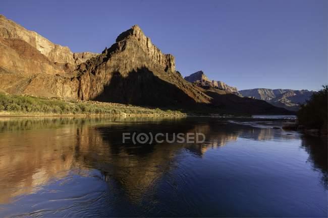 Vista panorâmica do rio Colorado, Grand Canyon, Grand Canyon National Park — Fotografia de Stock