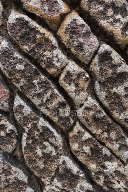 Granite Boulders Develop Patterned Textures On The Surface — Stock Photo