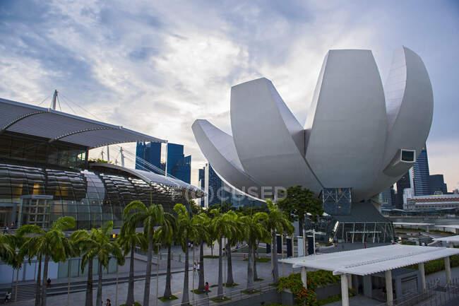 Сінгапур, місто, міська лінія, метрополіс, місто життя, Азія, архітектура, побудовані структури, капітал, бізнес, подорожі, подорожі, подорожі, подорожі, фотографії, колір зображення, на відкритому повітрі, без людей, бухта Марина, міський скайлайн, високий рівень — стокове фото