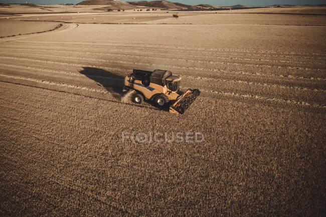 Field harvesting on the fields — Stock Photo