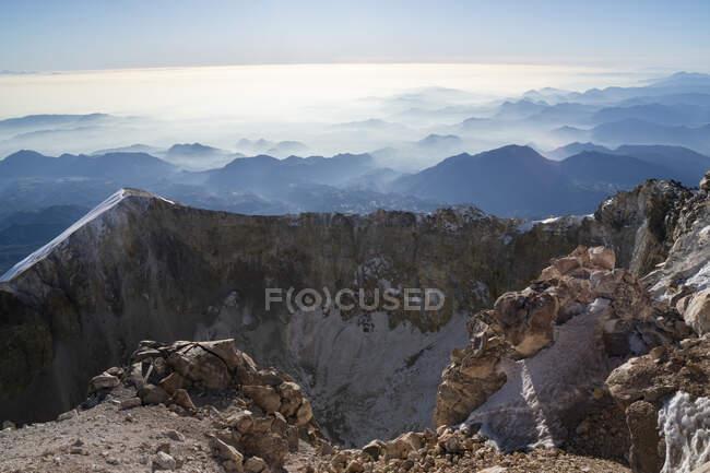 Beautiful mountain landscape view — Stock Photo