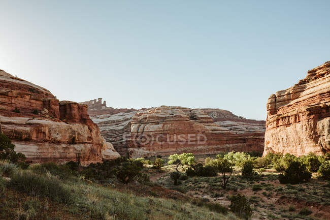 View of  of the Grand Canyon National Park, Utah, USA — Stock Photo
