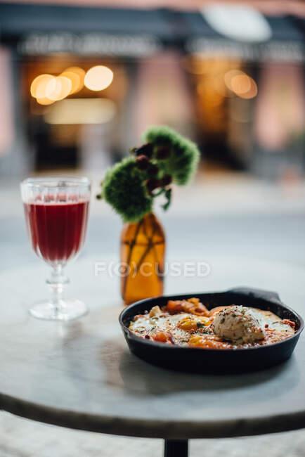 A cuisine photo of a restaurant — Stock Photo
